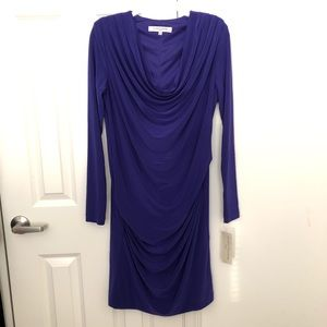 Evan-Picone Ruched Dress